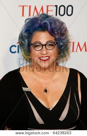NEW YORK-APR 29: Actress Jenji Kohan attends the Time 100 Gala for the Most Influential People in the World at the Frederick P. Rose Hall at Lincoln Center on April 29, 2014 in New York City.