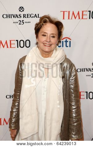 NEW YORK-APR 29: Chef Alice Waters attends the Time 100 Gala for the  Most Influential People in the World at Frederick P. Rose Hall, Home of Jazz at Lincoln Center on April 29, 2014 in New York City.