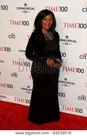 NEW YORK-APR 29: Human rights lawyer Thuli Madonsela attends the Time 100 Gala for  Most Influential People in the World at Frederick P. Rose Hall at Lincoln Center on April 29, 2014 in New York City.