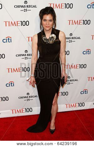 NEW YORK-APR 29: Director of Theater Diane Paulus attends the Time 100 Gala for  Most Influential People in the World at Frederick P. Rose Hall at Lincoln Center on April 29, 2014 in New York City.