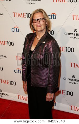 NEW YORK-APR 29: Geologist Kathryn D. Sullivan attends the Time 100 Gala for the Most Influential People in the World at Frederick P. Rose Hall at Lincoln Center on April 29, 2014 in New York City.
