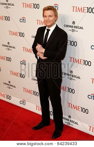NEW YORK-APR 29: Journalist Ronan Farrow attends the Time 100 Gala for the Most Influential People in the World at Frederick P. Rose Hall at Lincoln Center on April 29, 2014 in New York City.
