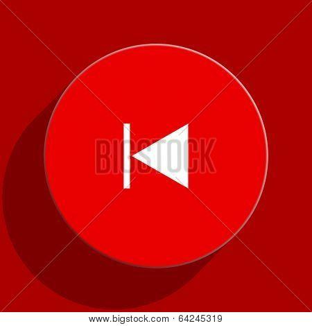 prev web flat icon