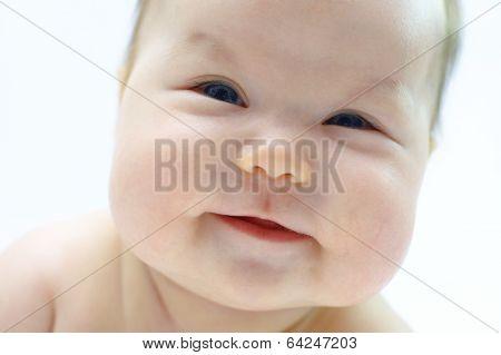 Newborn Baby Cute Smiling