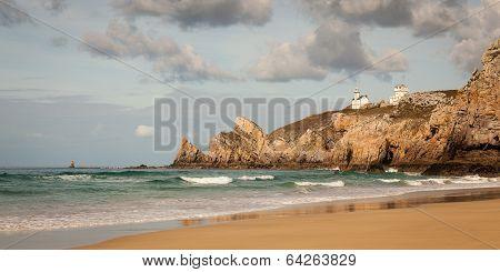 Coastal Seascape with Lighthouse