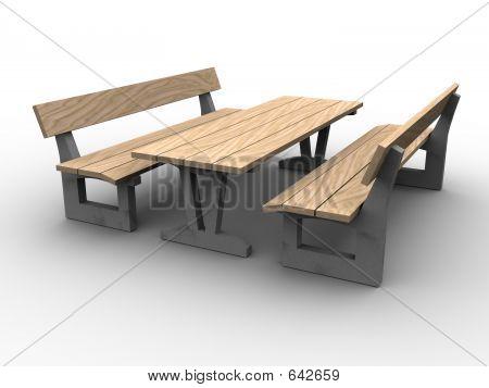 3d Garden Furniture