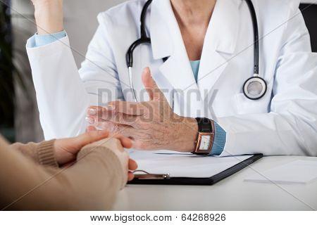Doctor's Consultation Closeup