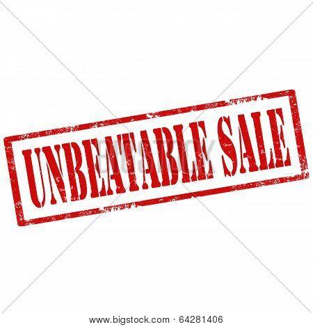 Unbeatable Sale-stamp