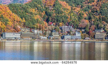 Hotels at Lake Kawaguchiko