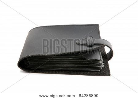 Black Purse Isolated