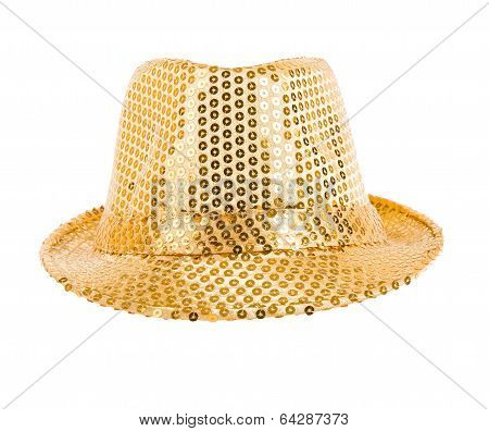Festively Gold Hat