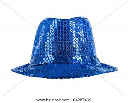 Festively Blue Hat