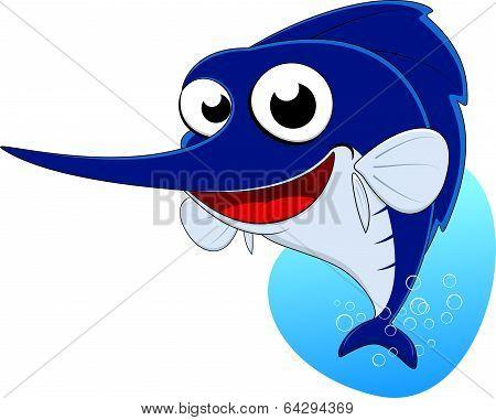 Swords fish,Blue marlin