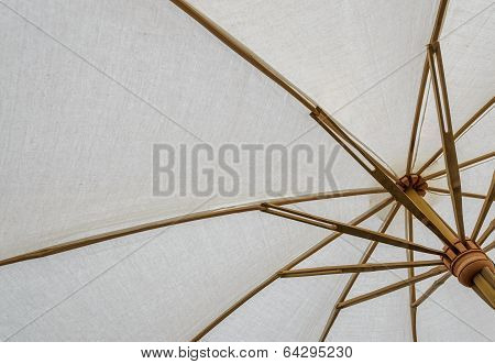 White Fabric Umbrella