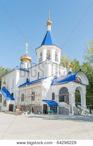 The temple in honor of icon of God Mother. Tyumen