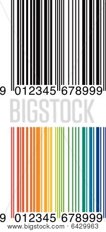 Sample Bar Codes EAN 8