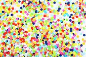 image of confetti  - Confetti background - JPG