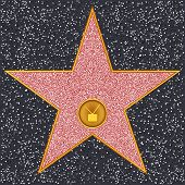 foto of terrazzo  - Hollywood Walk of Fame  - JPG