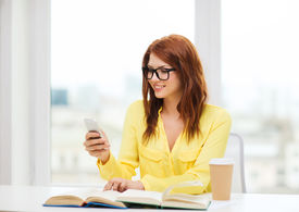 stock photo of takeaway  - education and technology concept  - JPG