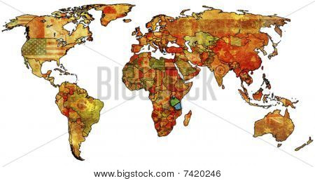 Tanzania On World Map