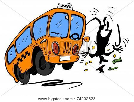 Angry Bus Requires Money From Man