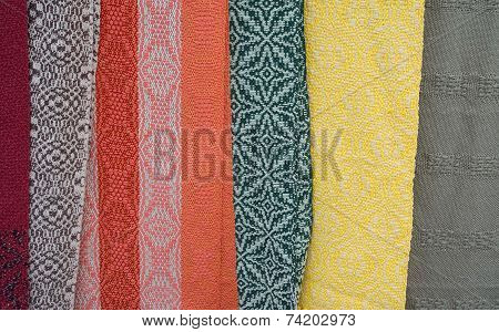 Cotton Scarves In Various Designs And Colors