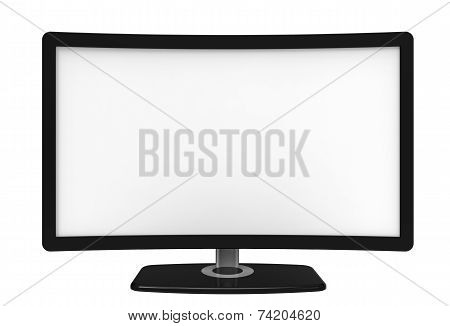 Curved Tv Screen