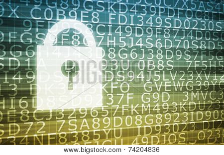 Security System for Database and Private Data
