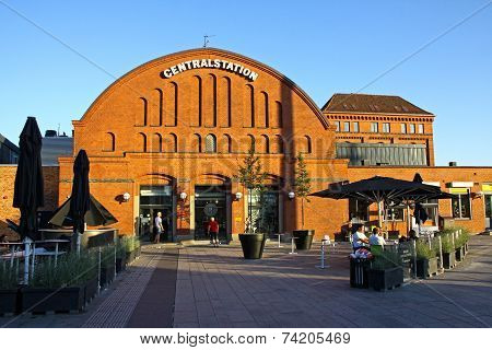 Central Railway Station In Malmo, Sweden