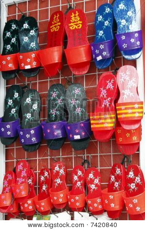 Chinese clogs