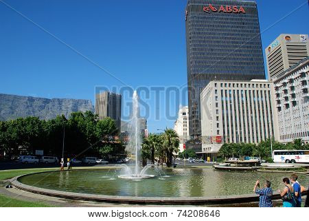 Downtown Of Cape Town, South Africa