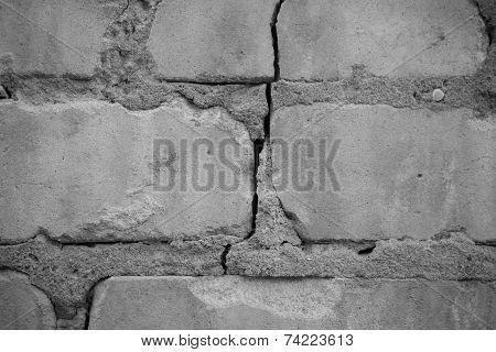 Grungy brickwork