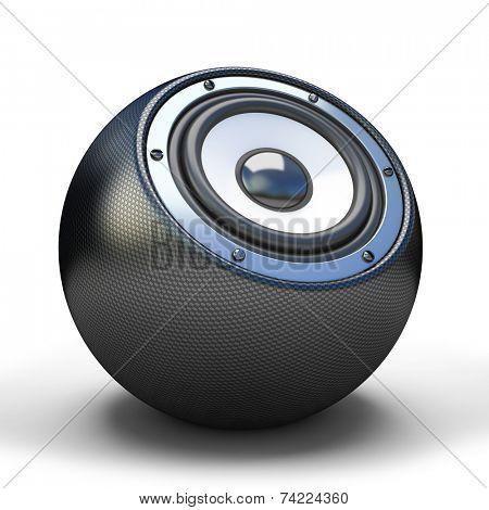 Cardon sphere speaker
