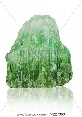 Jade Isolated On White Background