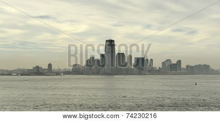 View Of Jersey City, New Jersey