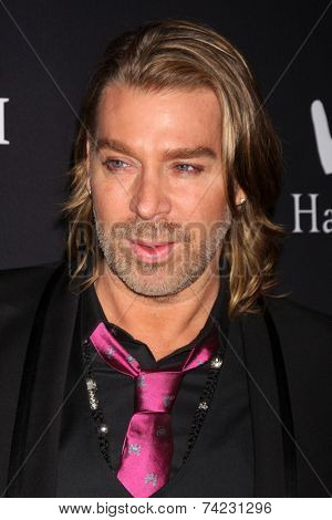 LOS ANGELES - OCT 18:  Chaz Dean at the Pink Party 2014 at Hanger 8 on October 18, 2014 in Santa Monica, CA