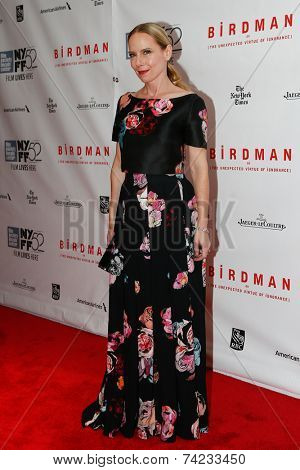 NEW YORK-OCT 11: Actress Amy Ryan attends the Closing Night Gala Presentation of 'Birdman Or The Unexpected Virtue Of Ignorance' at the New York Film Festival on October 11, 2014 in New York City.