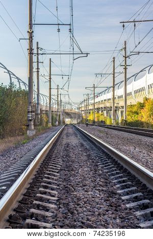 urban railway track