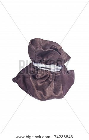 Brown gifts bag with ties