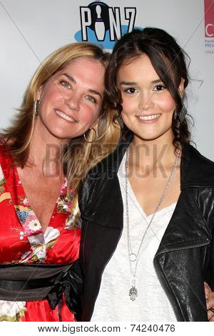 LOS ANGELES - OCT 19:  Kassie DePaiva, True O'Brien at the First Annual Stars Strike Out Child Abuse event to benefit Childhelp at Pinz Bowling Center on October 19, 2014 in Studio City, CA