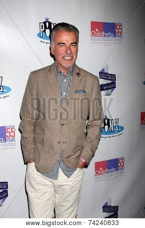 LOS ANGELES - OCT 19:  Ian Buchanan at the First Annual Stars Strike Out Child Abuse event to benefit Childhelp at Pinz Bowling Center on October 19, 2014 in Studio City, CA