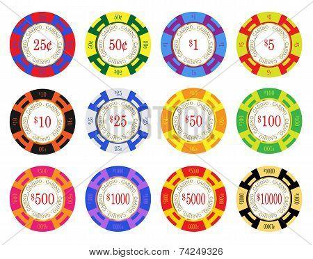 American Casino Chips
