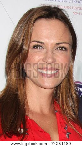 .LOS ANGELES - OCT 19:  Kelly Sullivan at the First Annual Stars Strike Out Child Abuse event to benefit Childhelp at Pinz Bowling Center on October 19, 2014 in Studio City, CA