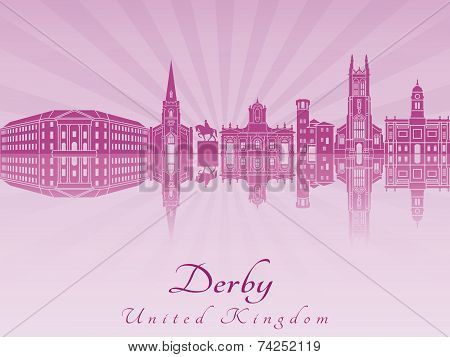 Derby Skyline In Purple Radiant Orchid