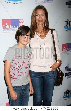 LOS ANGELES - OCT 19:  Jack Daggenhurst, Kristian Alfonso at the First Annual Stars Strike Out Child Abuse event to benefit Childhelp at Pinz Bowling Center on October 19, 2014 in Studio City, CA