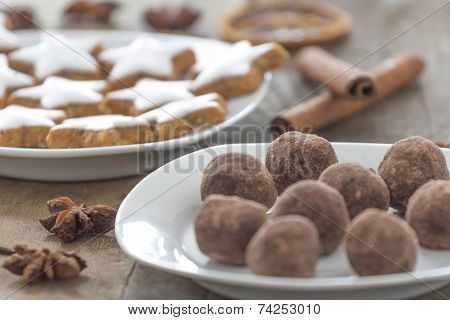 Christmas Pastries And Sweets
