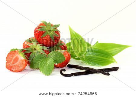 Vanilla With Strawberries