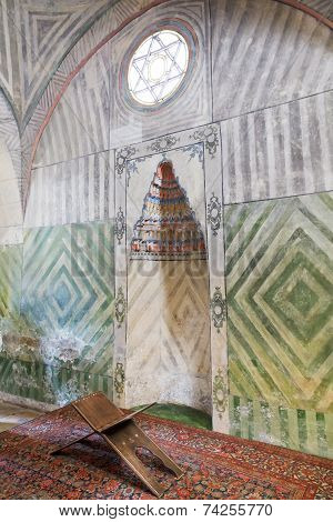 Mihrab Of Small Mosque In Khan's Palace, Crimea