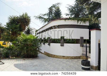 Entrance To Nikitsky Botanical Garden, Crimea