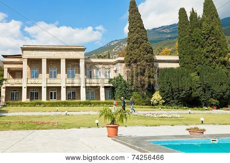 Office Building Of Nikitsky Botanical Garden Yalta